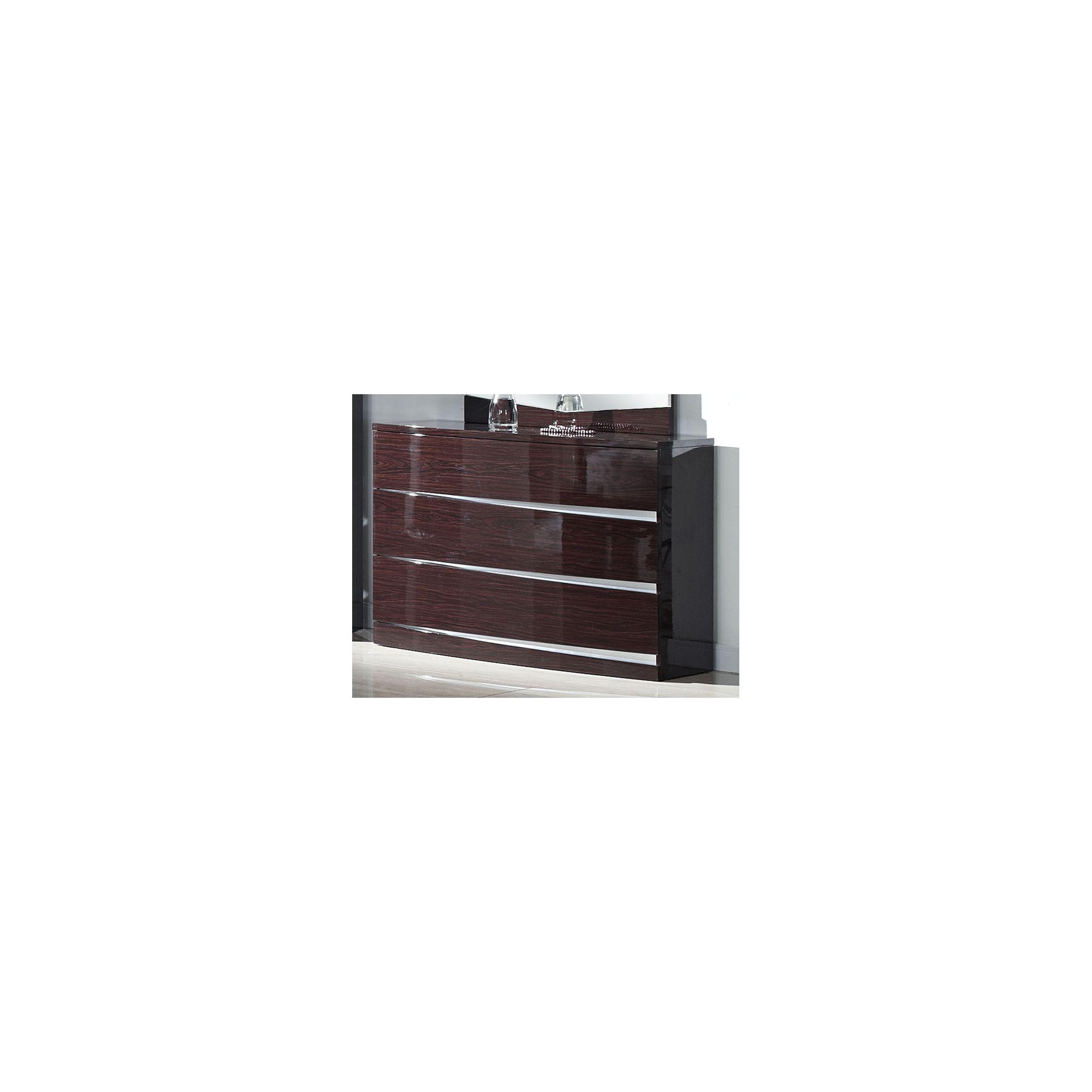 Furniture Link Plaza Dresser - Walnut at Tesco Direct