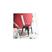 Tikamoon Industriel Metal Chair