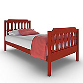 Sugar & Spice Single Bed - Red