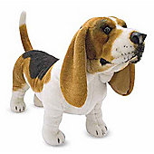 Melissa and Doug Basset Hound Plush