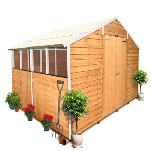 BillyOh 400 8 x 10 Overlap Apex Shed