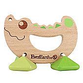 Teamson EverEarth Crocodile Rattle Toy