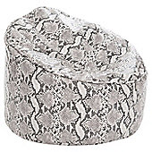 Kaikoo Mock Snake Skin Cool Chill Chair