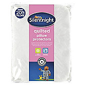 Silentnight Quilted Pillow Protector Twinpack