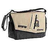 Okiedog Yukon Samurai Changing Bag, Black/Beige