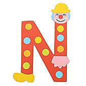 Tatiri Crazy Clown Letter N ((Red) Spots)