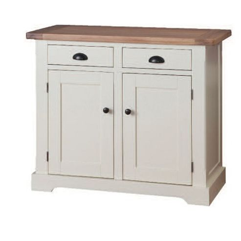 Wilkinson Furniture Buttermere Two Drawer Small Sideboard in Ivory