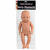 Dolls World 16 inch Early Moments Boy Doll (White)