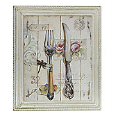 CIMC Home Vintage Knife and Fork Wall Art