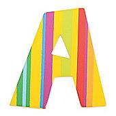 Tatiri Spots & Stripes Letter A (Stripes)