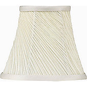 The Lighting & Interiors Group Twisted Pleat in Cream - 15cm