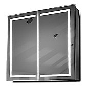 Talia LED Bathroom Cabinet with Demister Pad, Sensor & Shaver k362