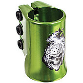 Madd Gear HotHead Oversized Triple Collar Scooter Clamp - Green
