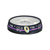 TDK CD-R Audio 80MIN 10-Pack Spindle