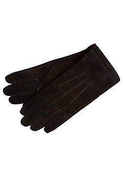 F&F Suede Gloves - Black