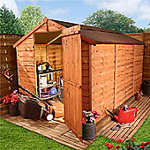 BillyOh 20 10 x 6 Windowless Rustic Overlap Apex Shed