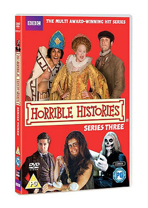 Horrible Histories - Series 3 - Complete (DVD Boxset)