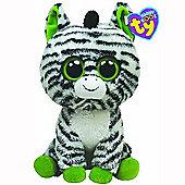 Ty Beanie Boos - Zig-Zag the Zebra