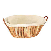 Wicker Valley Willow Oval Lining Basket