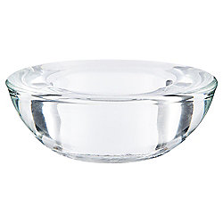 Tesco Glass Tealight Holder Clear