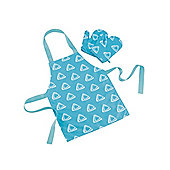ELC Apron and Gloves - Turquoise
