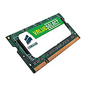 Corsair Value Select SODIMM 1GB PC-3200 400MHz DDR SDRAM Notebook Memory Module