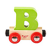 Bigjigs Rail BR102 Name Letter B (Colours Vary)