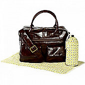 Koto Leatherette Changing Bag (Brown)