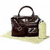 Koto Leatherette Changing Bag (Brown)