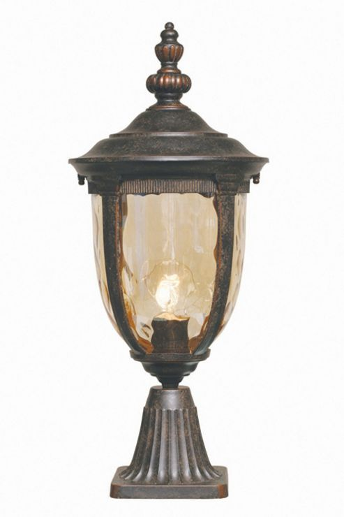 Elstead Lighting Cleveland Pedestal Lantern - Medium