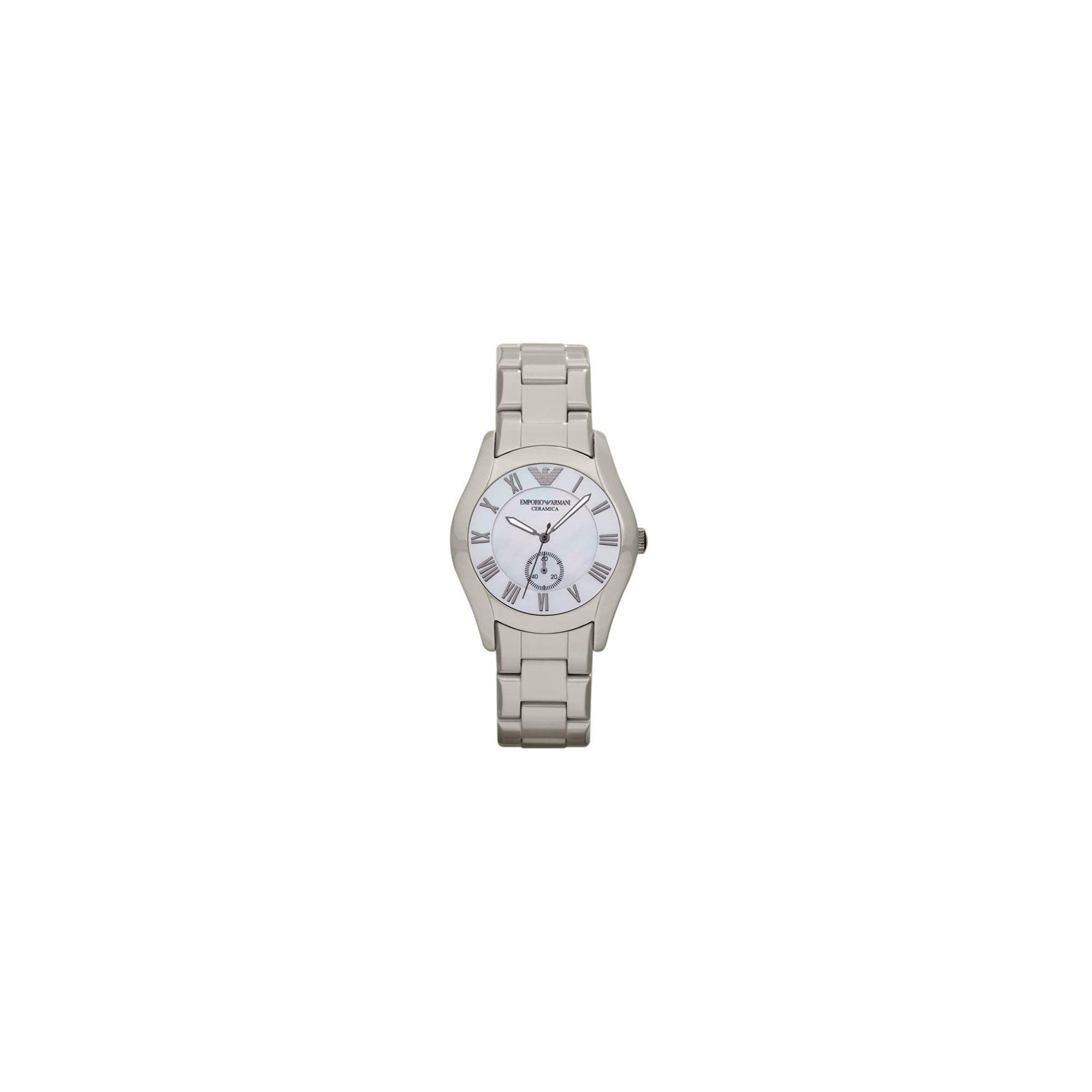 Emporio Armani Ladies Cream Bracelet Watch AR1461 at Tesco Direct