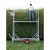 55 Wheeled Henchman Garden Work Platform