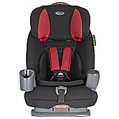 Nautilus Car Seat Aluminium, Group 1-2-3