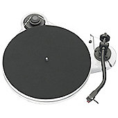 PROJECT RPM 1.3 GENIE TURNTABLE WITH 2M RED CARTRIDGE (GLOSS WHITE)