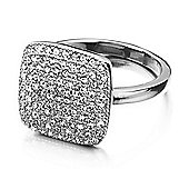 Shimla Ladies Stone Set Square Ring - SH-230SM