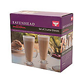 Set of 2 Latte Glasses - 26cl