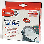 Clippasafe Pram and Carrycot Cat Net Large