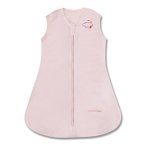 BreathableBaby Breathable Sleep Sack Pink Medium