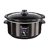 Morphy Richards 48738 Slow Cooker Black 3.5L