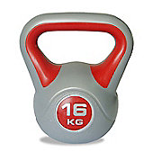 Body Power 16kg Vinyl Kettlebell