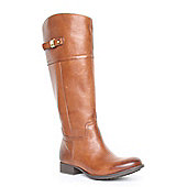 Clarks Ladies Mimic Dance Dark Tan Boots