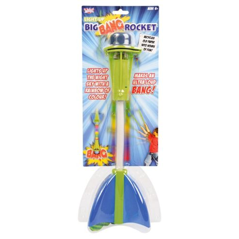 Wicked Light Up Big Bang Rocket