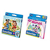 Vtech Innotab Game Bundle Disney Fairies And Disney Minnie 2 Items