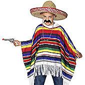 Poncho - Child Costume 6-12 years