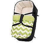 OBaby Zeal Carrycot (ZigZag Lime)