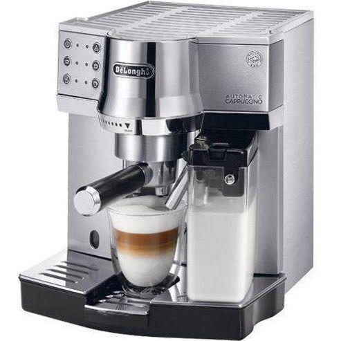 Delonghi Premium Espresso Pump - Silver