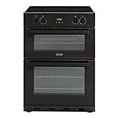 SE60MFPTIGBDEBLK A Rated Double Electric Oven with Grill in Black