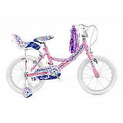 """Concept Princess 16"""" Kids' Bike, Pink/Purple"""