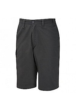 Craghoppers Mens Kiwi Long Walking Shorts - Grey