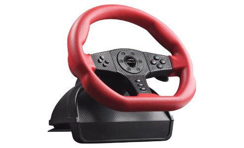 SPEEDLINK Carbon GT Racing Wheel PC & PS3, Red/Black SL-6694-RD